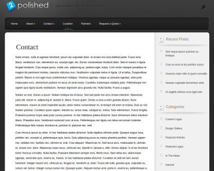 Location Page of Polished