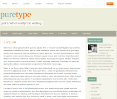 Location Page of PureType