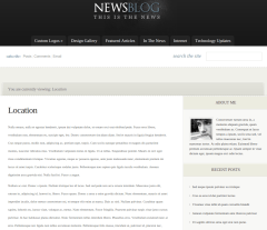 Location Page of eNews