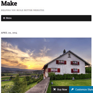 Make Plus - Responsive theme