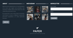 Paper – Footer