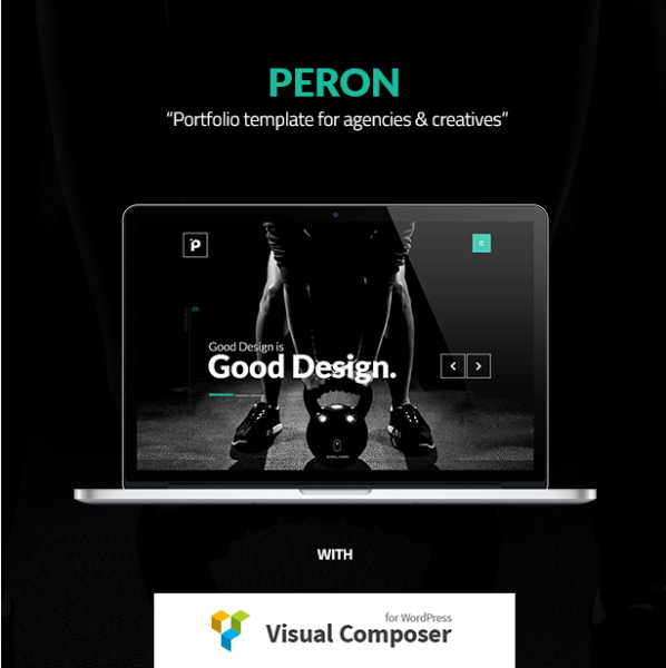 Peron – Multipurpose Creative WP Theme