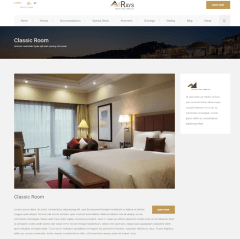 Rays – Accomodations ( classic rooms )