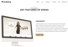 Services Page of EDENA