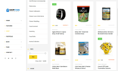 Shop Page of ShopStars