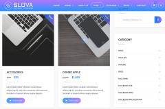 Shop Page of Slova