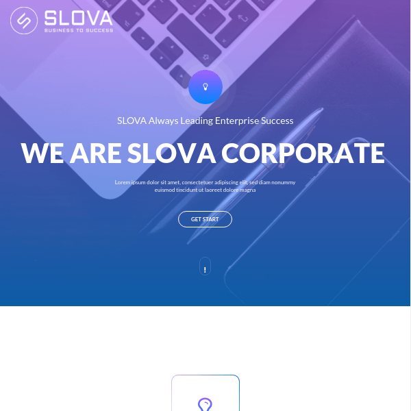 Slova – Business Responsive WordPress Theme