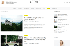 Travel Page of Artmag