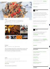Twenty Fourteen – Gallery and Quotes post format layouts