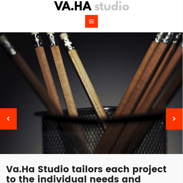 VaHa – Agency / Portfolio / Studio WP theme