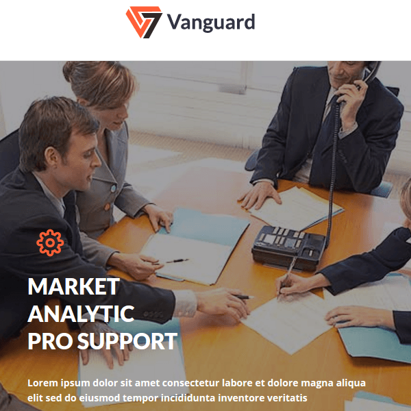 Vanguard - Business And Corporate WordPress Theme