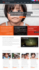 Volunteer – Homepage