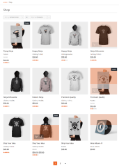 Volunteer – shop page