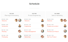 Conference – schedule