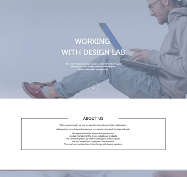 Design Lab Pro – WordPress theme for designers and agencies.