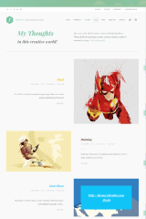 Freelo WP – blog page