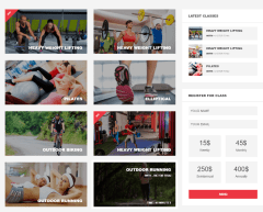 Gym & Fitness – Classes