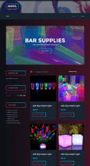Jarvis – shop page