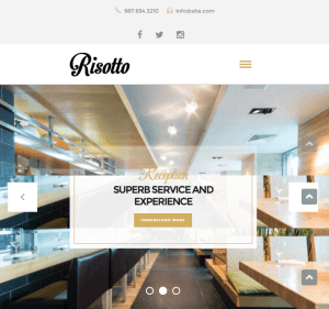Risotto - WP theme for Restaurants and Cafes