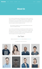 Showcase  Pro – Team Page Template