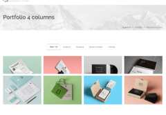 Superfine – 4column portfolio
