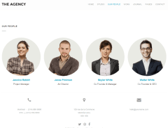 The Agency – team page