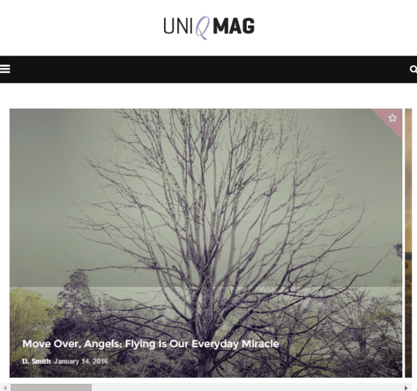 Uniqmag – Blog and Magazine WP Theme.