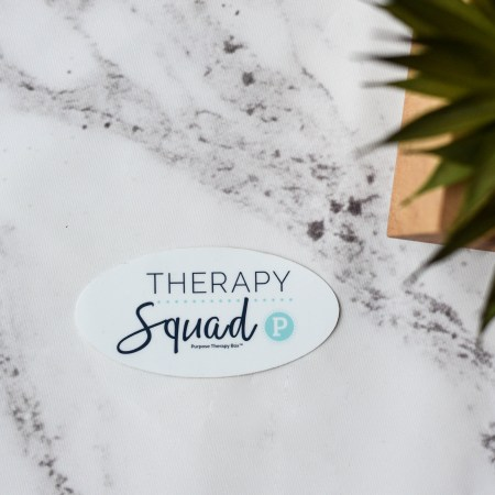 Therapy Squad Sticker- Occupational/ Physical / Speech Therapy