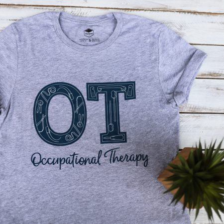 Occupational Therapy Shirt- with Adaptive Equipment