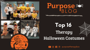 Trick or Treatment therapy Halloween Shirt purpose therapy box