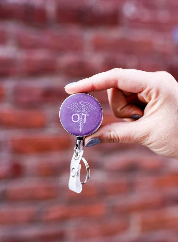 Occupational Therapy Badge Reel
