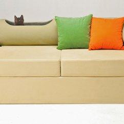 Friends Sofa Replica Bed Air Mattress Topper Cat Friendly Furniture Ideas Purrfect Love