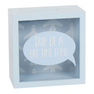 Trip Of A Lifetime Fund Money Box