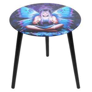 Spellweaver Glass Table by Anne Stokes