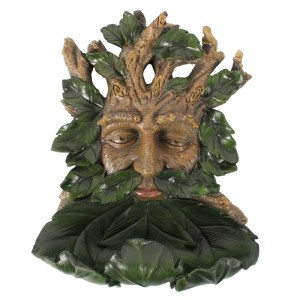 Large Green Man Bird Feeder