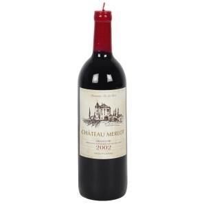 28cm Wine Bottle Candle