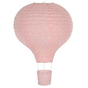 Pink Hot Air Balloon Lampshade