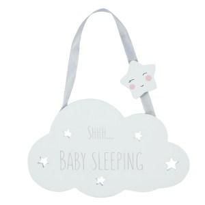 Shh Baby Sleeping Hanging Decoration