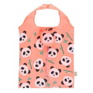 Penelope Panda Foldable Shopping Bag