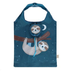 Sidney Sloth Foldable Shopping Bag