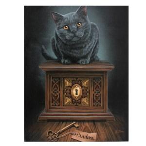19x25cm Pandora's Box Canvas Plaque by Lisa Parker