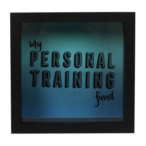 Personal Training Fund Money Box