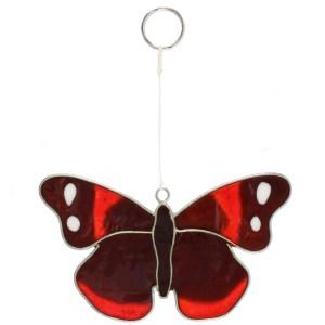 Red Admiral Butterfly Suncatcher