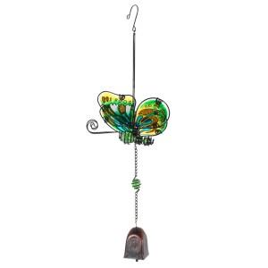 Green Butterfly Windchime