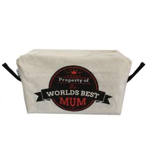 Toiletry Bag - Worlds Best Mum