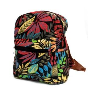 Jungle Bag - Undersized Backpack - Black / Orange
