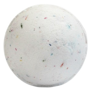Tutti Fruiti Bath Bomb - White & Multi