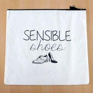 Get Organised Sack - Sensible Shoes