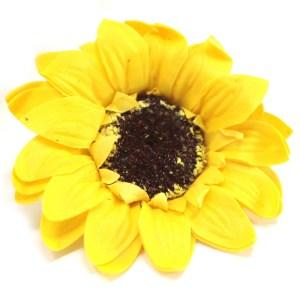 Craft Soap Flower - Lrg Sunflower - Yellow