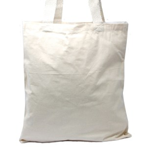 Lrg Natural 6oz Cotton Bag 38x42cm